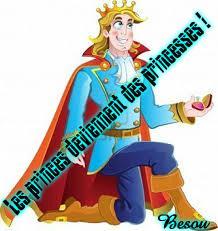 Quand les princes deviennent des princesses !