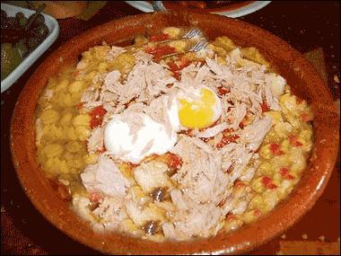 Quel est le nom de cette soupe tunisienne à base de pois chiches ?
