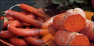 Quel est le nom de cette spécialité espagnole de Majorque, faite de porc hâché et assaisonnée de paprika ?