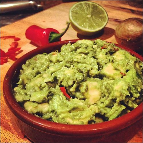 La guacamole est une spécialité...