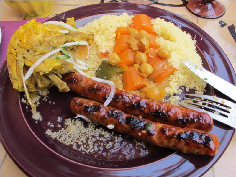 Dans les pays du Maghreb, avec quelle viande sont réalisées les merguez ?