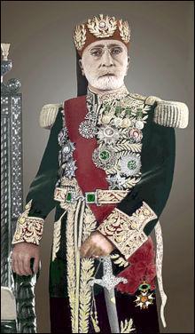 Haut fonctionnaire dans l'Empire ottoman :