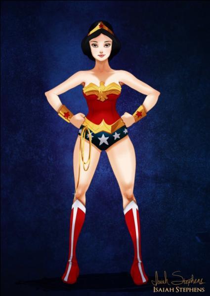 Tiens, mais voilà Wonder Woman ! Quelle héroïne Disney se cache sous ce costume ?