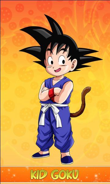Sur quoi roule Goku au début de l'histoire ?