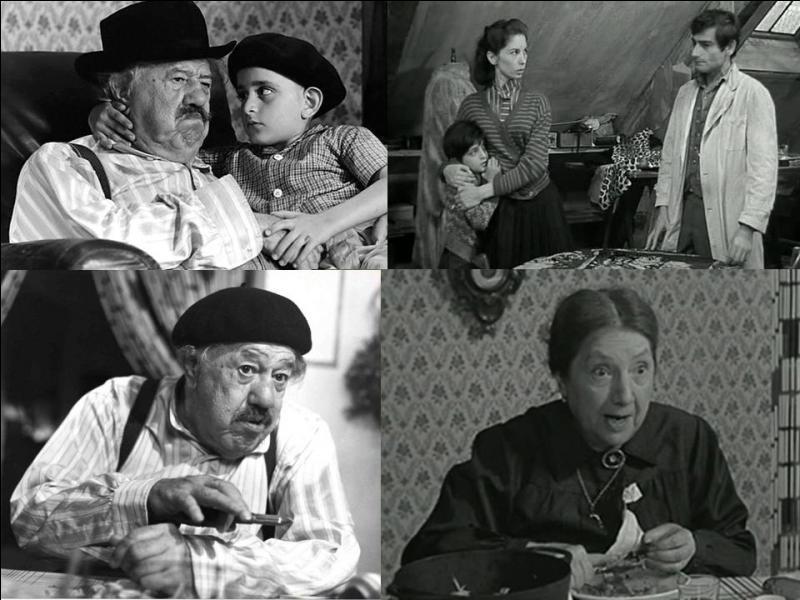 C'est un film autobiographique français de 1966, il a été réalisé par Claude Berri...Michel Simon, Luce Fabiole, Alain Cohen… font partie de la distribution. C'est l'histoire du jeune Claude Langman (Claude Berri) pendant l'occupation. Ses parents l'envoient en Province pour le protéger, une famille de retraités, « Pépé » et « Mémé », l'accueillent…Quel est ce film ?