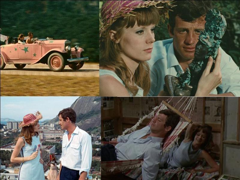 C'est un film d'aventures franco-italien de 1963, il a été réalisé par Philippe De Broca.Jean-Paul Belmondo, Françoise Dorléac, Jean Servais… font partie de la distribution. Suite à un vol de statuette amérindienne, une jeune femme est enlevée, elle est sauvée par son fiancé...Quel est ce film ?