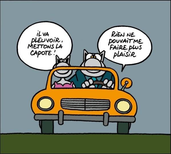 Djekill s'étonne qu'il n'y ait pas d'éclairage sur les routes nationales françaises : C'est normal lui dit Nicoldy :