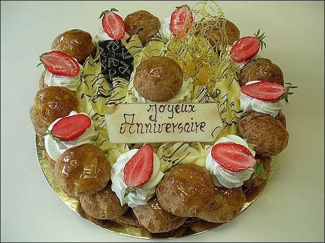 Et voici un magnifique gâteau d'anniversaire ! Peu importe qu'il soit français ou belge !