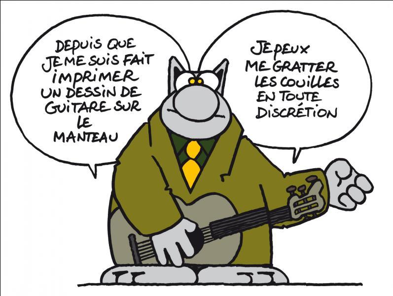 """Ce 11 octobre est aussi l'anniversaire d'un chanteur français. En son honneur Synapse prend sa guitare et chante """" Quand la musique est bonne...."""""""