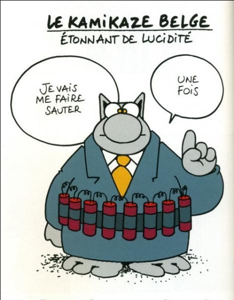 """Jeff, un ami français raconte une petite blague """"Que faire lorsqu'un Belge vous lance une grenade"""" ?"""