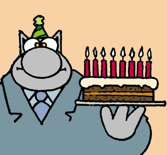 Bon anniversaire à un ami belge !