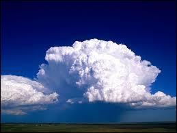 Quel est le nom de ce nuage ? Indice - Ils sont porteurs d'orages, d'averses, de grêle