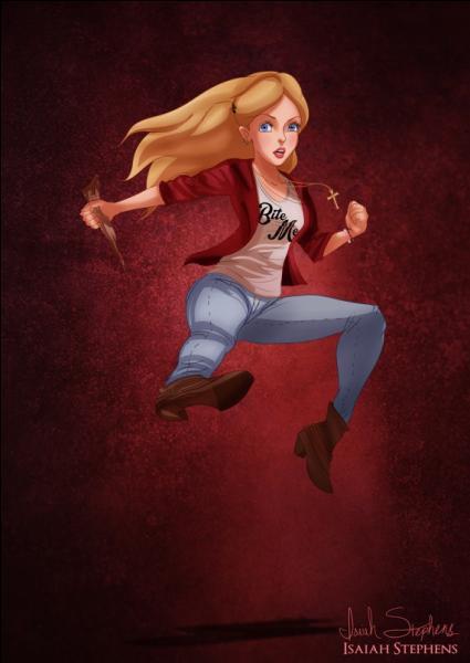 Alice n'est plus au pays des merveilles mais au pays des vampires ! En qui s'est-elle transformée ?