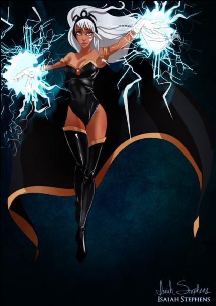 La princesse Kida se prend pour une X-men en imitant Tornade ! De quel dessin animé provient-elle ?