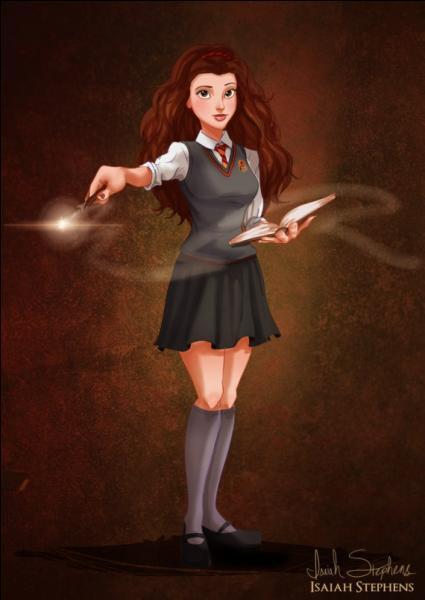 Quelle princesse vient d'être admise à Poudlard (Harry Potter) ?