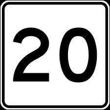 Comment dit-on le chiffre 20 en espagnol ?