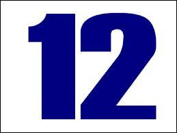 Comment dit-on le chiffre 12 en espagnol ?