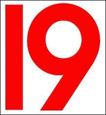Comment dit-on le chiffre 19 en espagnol ?