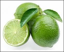 La lime est un agrume de couleur verte ressemblant au citron. C'est aussi...