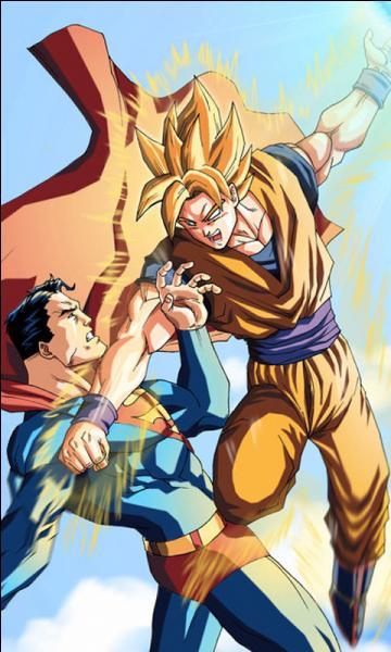 Qui gagne entre Goku et Super Man ?