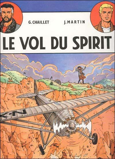 """Quel héros de bandes dessinées créé par Jacques Martin ( l'auteur de bandes dessinées, pas le célèbre présentateur) apparait dans cette bande dessinée, """" Le Vol du Spirit""""."""