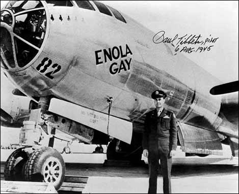 Quel groupe de new wave britannique a composé un titre pour Enola Gay, l'avion qui a largué la première bombe atomique sur Hiroshima , le 6 août 1945.