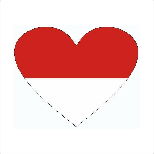 Pour terminer ce quizz, dites-moi le pays qui est représenté par ce drapeau en forme de cœur.