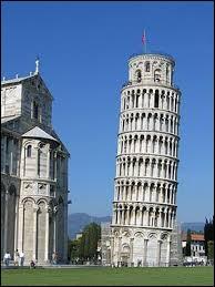 Quelle est la hauteur de la tour de Pise ?