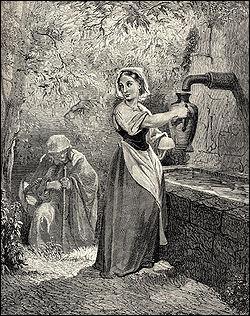 """""""Un jour qu'elle était à cette fontaine, il vint à elle une pauvre femme qui la pria de lui donner à boire..."""". A qui doit-on le conte """"Les Fées"""", paru en 1697 ?"""