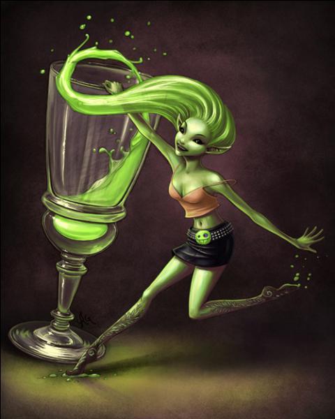 """En France, quelle boisson alcoolisée était autrefois surnommée """"La Fée verte"""" ?"""
