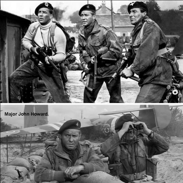 Richard Todd (Major [commandant], Howard dans le film) et Joseph Lowe (figurant) ont dû avoir des sensations bizarres pendant le tournage de ce film.Quelle en est la raison ?