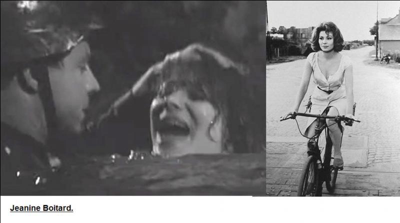 Dans deux scènes du film, on voit une jeune résistante (Jeanne Boitard) aider des soldats français libres et participer à l'attaque d'une voie ferrée. Qui aurait dû jouer le rôle de cette résistante !