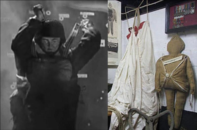 Une très grosse erreur a été commise (volontairement) pendant les opérations parachutistes. Cela concerne les « paradrummies », ces poupées parachutistes explosives qui ont été utilisées par les Britanniques.