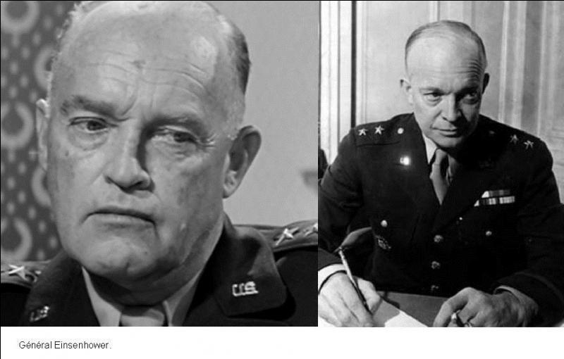Trouver les bons acteurs pour représenter, pour jouer les personnages les plus connus du « D-Day », a posé énormément de soucis, ils devaient être ressemblants.Le choix d'un acteur pour jouer le général Dwight D. Eisenhower en est l'exemple.Quelle était sa véritable fonction ?
