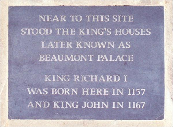 Où naquit Richard Cœur de Lion ?