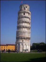 Dans quel pays se trouve la tour de Pise ?