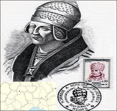 Quel nom porte ce très grand savant, philosophe, théologien et mathématicien du 10e siècle ?Regardez bien l'illustration.