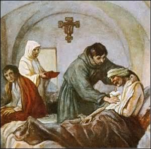 Il était issu d'un milieu aisé et vécut une jeunesse mondaine. Qui réforma sa vie à la suite d'une grave maladie, devint l'apôtre de la pauvreté et fut à l'origine de l'ordre franciscain ?