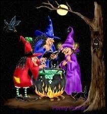 Bon, maintenant le chaudron, une sorcière sans chaudron, impossible ! Quel est son usage ?