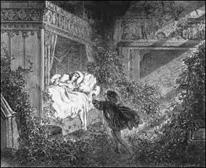 Comment la jolie princesse héroïne de la Belle au bois dormant fut-elle ensorcelée au point de s'endormir durant un siècle ?