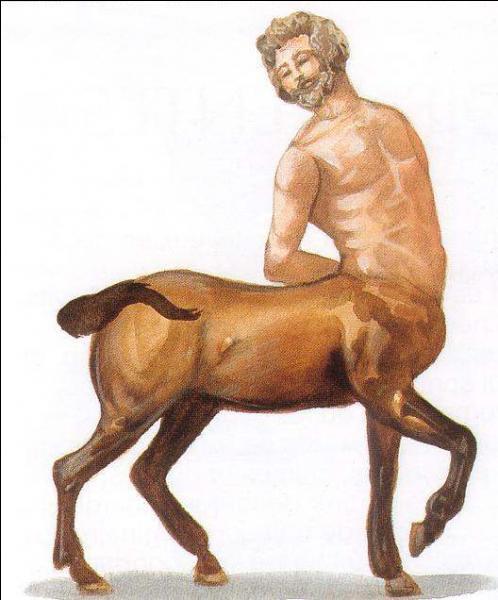 Mi-homme, mi-cheval, cette créature porte le nom de...