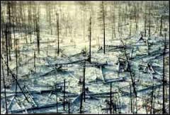 En allant dans la région de Yakutia en Russie, vous trouverez une vallée appelée...