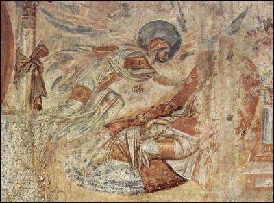 Par l'intermédiaire d'un rêve, à qui un ange dit que Jésus est un enfant issu du Saint-Esprit ?
