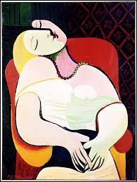 Qui a peint cette toile nommée « Le Rêve », représentant Marie-Thérèse Walter, en 1932 ?