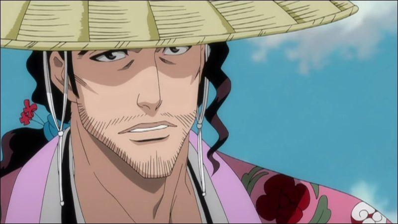 Je suis le Capitaine de la Huitième Division du Gotei.13 et ai combattu le Primera Espada. Je suis...