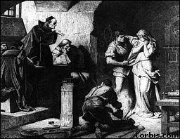Que cherche-t-on sur le corps nu et rasé de la sorcière afin d'avoir la preuve de sa culpabilité et de ses accointances avec Satan ?