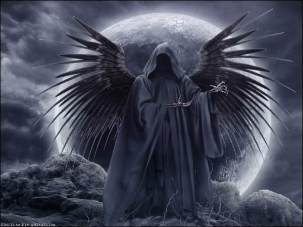 La mort est représentée avec...