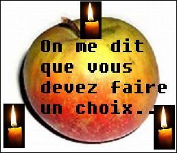 L'imagination est sans bornes dans le domaine de la divination ! Quelle est celle qui nous prend pour des pommes ?