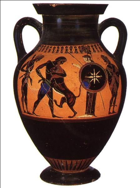 Quel fut le premier travail d'Héraclès dans la mythologie grecque ?