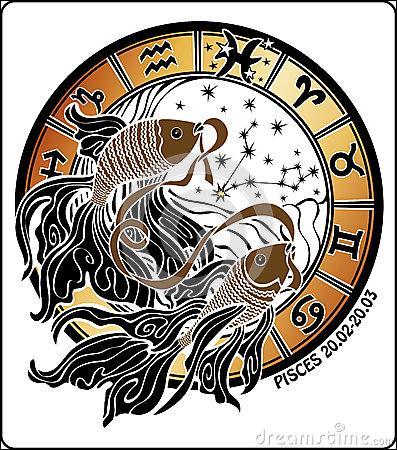 """""""Les queues"""" (Zib-Me) semblaient symboliser le Tigre et l'Euphrate. Le troisième signe d'Eau (19 février-20 mars) est le signe..."""